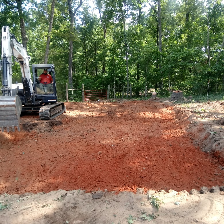 Clearing and Grading near woods
